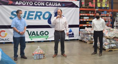 ENTREGA GRUPO ASTRAL 1000 DESPENSAS PARA HERMOSILLO
